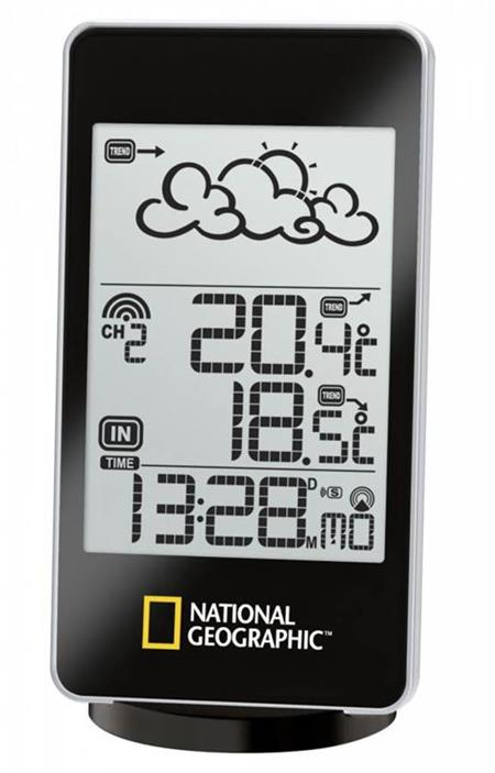 Bresser National Geographic Meteo Station, 1 screen; 9066000