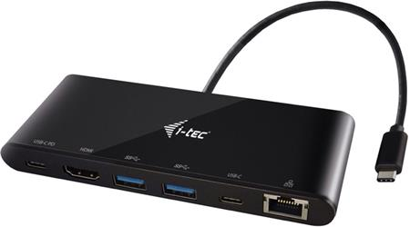i-tec USB-C 3.1 Travel Docking Station Power Delivery; C31MINIDOCKPD