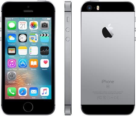 Apple iPhone SE 32GB, šedá; MP822CS/A