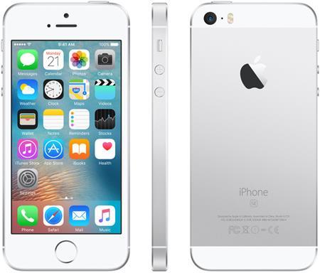 Apple iPhone SE 32GB, stříbrná; MP832CS/A