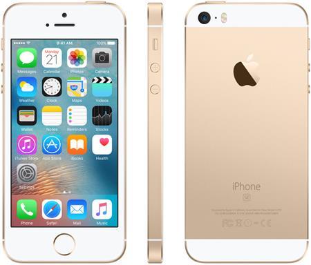 Apple iPhone SE 32GB, zlatá; MP842CS/A