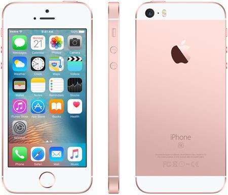 Apple iPhone SE 32GB, růžová/zlatá; MP852CS/A