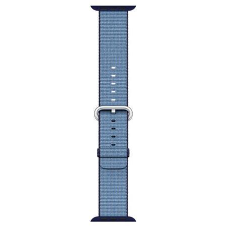 Apple Watch 42mm Navy/Tahoe Blue Woven Nylon; MP232ZM/A