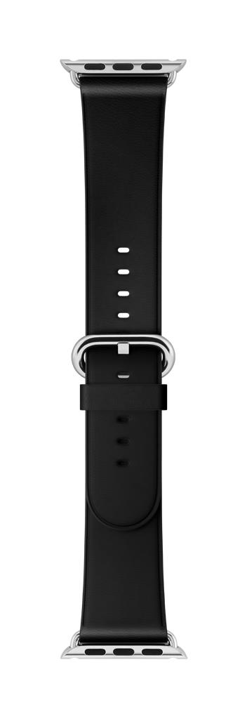 Apple Watch 38mm Black Classic Buckle; MPW92ZM/A