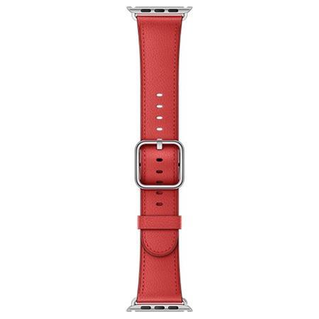 Apple Watch 38mm Red Classic Buckle; MPWE2ZM/A