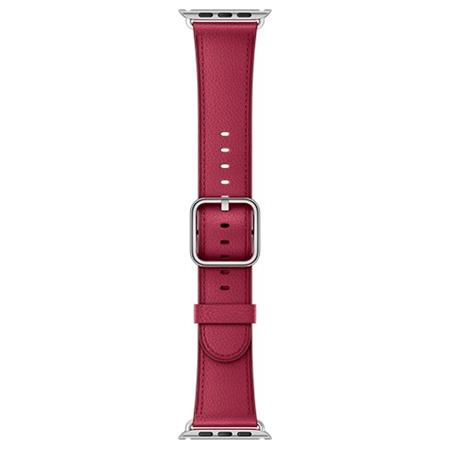 Apple Watch 38mm Berry Classic Buckle; MPWM2ZM/A