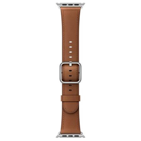 Apple Watch 42mm Saddle Brown Classic Buckle; MPWT2ZM/A