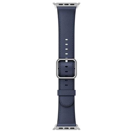 Apple Watch 42mm Midnight Blue Classic Buckle; MPWV2ZM/A