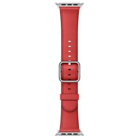 Apple Watch 42mm Red Classic Buckle; MPWX2ZM/A