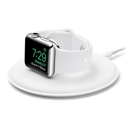 Apple magnetický nabíjecí dok pro Apple Watch bílý; MLDW2ZM/A