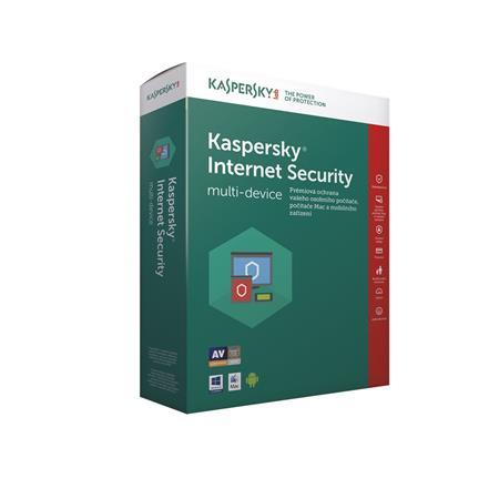 Kaspersky Internet Security MD 2017 CZ,5x, 2 roky ; KL1941XCEDS