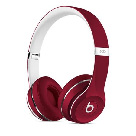 Beats Solo2 On-Ear Headphones (Luxe Edition) - Red; ML9G2ZM/A