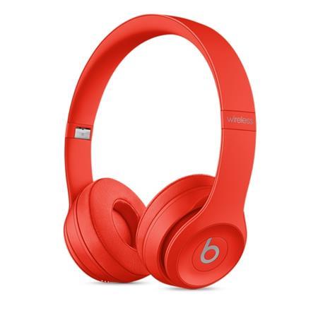 Beats Solo3 Wireless On-Ear Headphones - (PRODUCT)RED, červená; MP162ZM/A