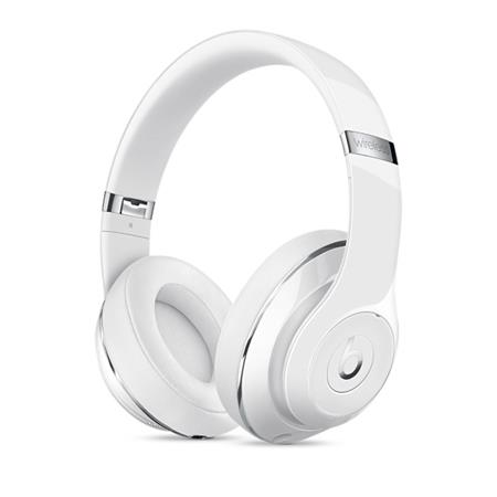 Beats Studio Wireless Over-Ear Headphones - leskle bílá; MP1G2ZM/A