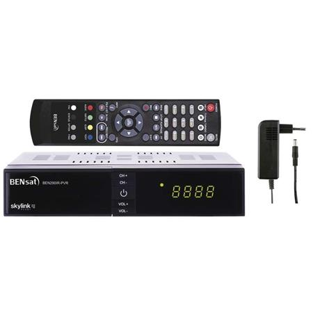 Bensat HD satelitní přijímač Bensat 290IR-PVR J5410; 2520219000