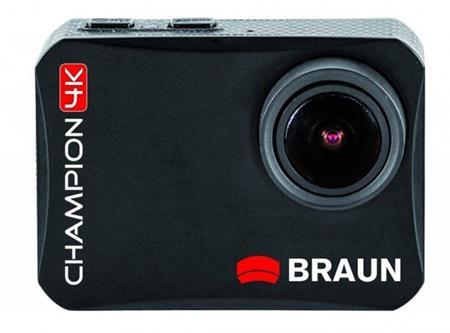 Braun outdoorová videokamera Champion 4K, WiFi, s vodotěsným pouzdrem; BR 57521