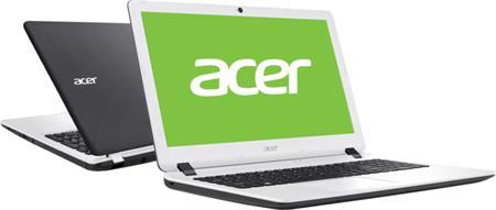 Acer Aspire ES15 (ES1-523-483B), černo-bílá; NX.GKZEC.001