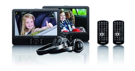 """Denver MTW-984TWIN - přenosný DVD přehrávač, 9"""" LCD displej, 16:9, černá; ldvp939"""