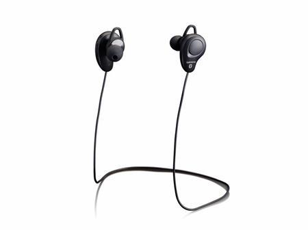 Sportovní sluchátka Lenco EPB-015 černá; lepb015bk