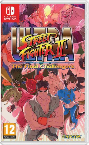 Nintendo SWITCH Ultra Street Fighter 2 The Final Challenger; NSS725