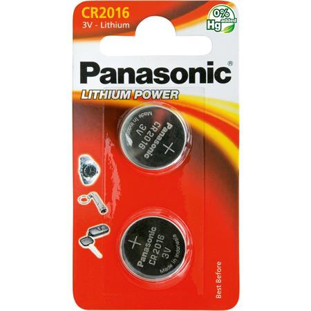 Panasonic CR-2016 2BP Li; CR-2016 2BP Li