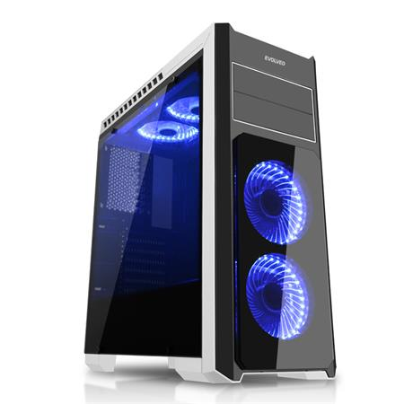 Evolveo Ray 4, case ATX; CAER4