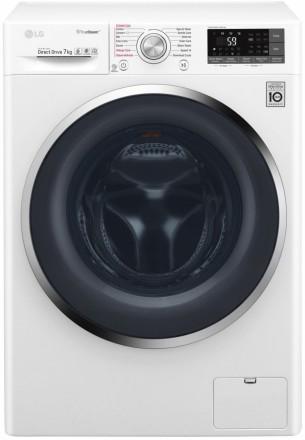 LG - Pračka automatická parní F72J8HS2W + 10 let záruka na motor; F72J8HS2W