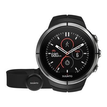 Suunto Spartan Ultra Black HR - hodinky; SS022658000