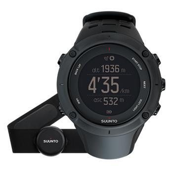 Suunto Ambit3 Peak Black HR - hodinky; SS020674000