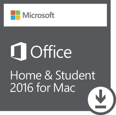 Office Mac Home Student 2016 All Lng - elektronická licence; GZA-00550
