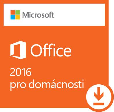 Office 2016 pro domácnosti Win All Lng - elektronická licence; 79G-04294