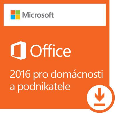 Office 2016 pro domácnosti a podnikatele Win All Lng - elektronická licence; T5D-02316