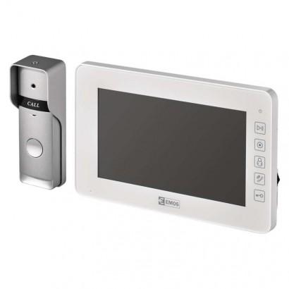 EMOS Domácí videotelefon, barevná sada, H2015; 3010000122