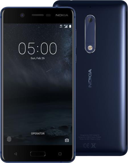 Nokia 5, Dual Sim, modrá; 11ND1L01A10