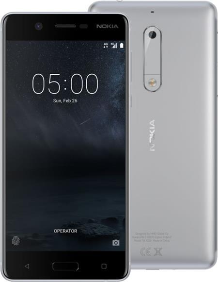 Nokia 5, Dual Sim, bílo/stříbrná; 11ND1S01A13