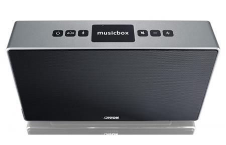 CANTON musicbox S, Stříbrná; MUSICBOX S TITAN