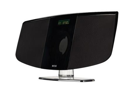 ECG XMS 1111 U Black - Micro HiFi systém, 2x15W, AUX, MP3, FM,, černý; 130310634958