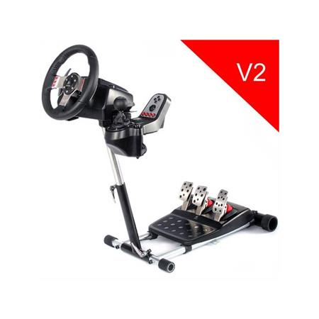 Wheel Stand Pro DELUXE V2, stojan na volant a pedály pro Logitech G25/G27/G29/G920; G27