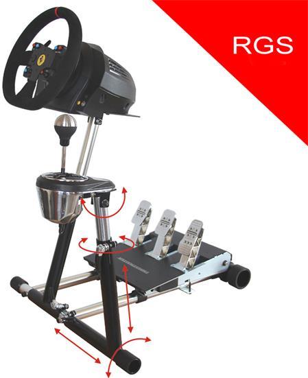 RGS Modul - upgrade, přídavný stojan pro řadící páku Thrustmaster, nebo Logitech; RGS