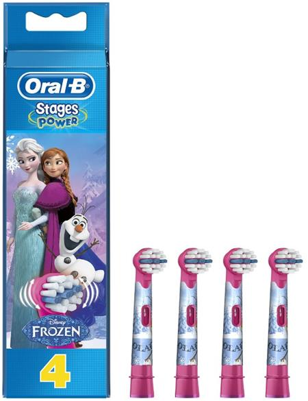 Oral-B EB-10-4 Frozen - náhradní katáčky 4ks; 4210201181477 - Oral-B Frozen EB 10-4