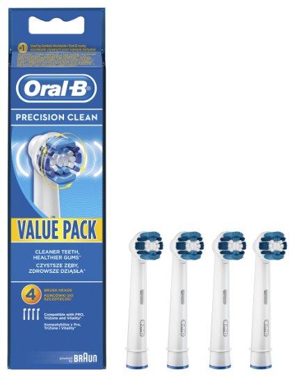 Oral-B Precision Clean EB 20-4 náhradní hlavice 4ks; 4210201757771