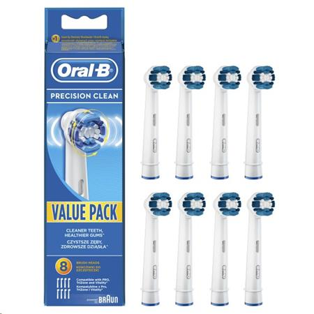 Oral-B Precision Clean EB 20-8 náhradní hlavice 8ks; 4210201094593