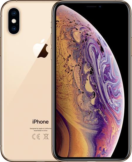 Apple iPhone Xs, 64GB, zlatá; mt9g2cn/a