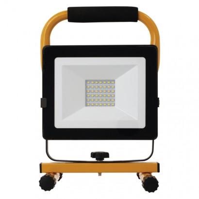 LED reflektor přenosný, 30W neutrální bílá; 1542033310 - EMOS Lighting LED reflektor přenosný, 30W neutrální bílá