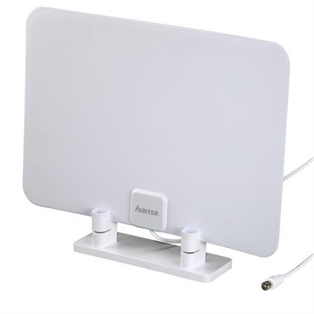 Hama pokojová anténa DVB-T/DVB-T2, ultra plochá; 121668