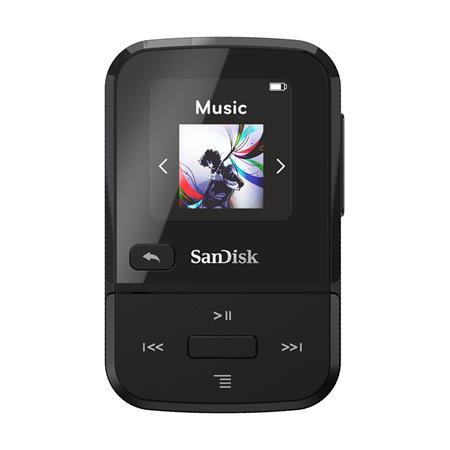 SanDisk MP3 Clip Sport GO 16 GB černá; SDMX30-016G-G46K