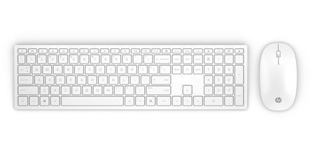 HP Pavilion Wireless Keyboard and Mouse 800 CZ, bílá; 4CF00AA#AKB