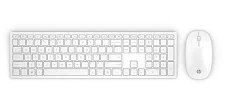 HP Pavilion Wireless Keyboard and Mouse 800 (White) SK; 4CF00AA#AKR