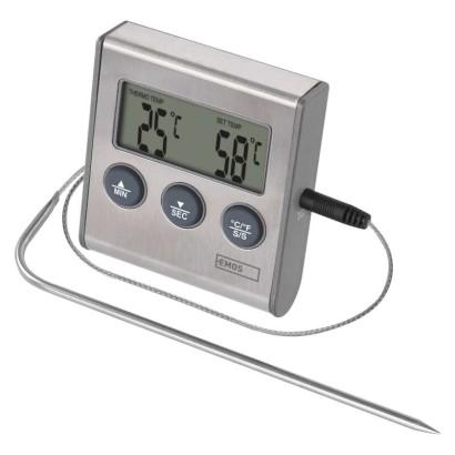 Digitální grilovací teploměr a minutka E2157; 2603015000