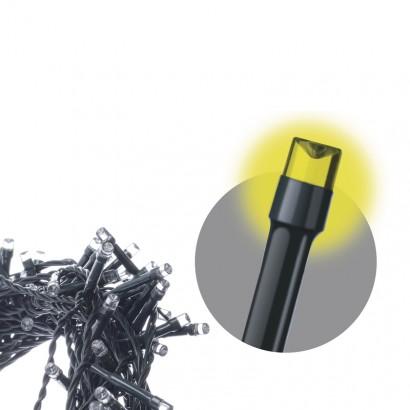 LED řetěz – krápníky, 3,6m, teplá bílá, programy; 1534204900 - EMOS LED vánoční rampouchy, 3,6m, teplá bílá, programy ZY2049